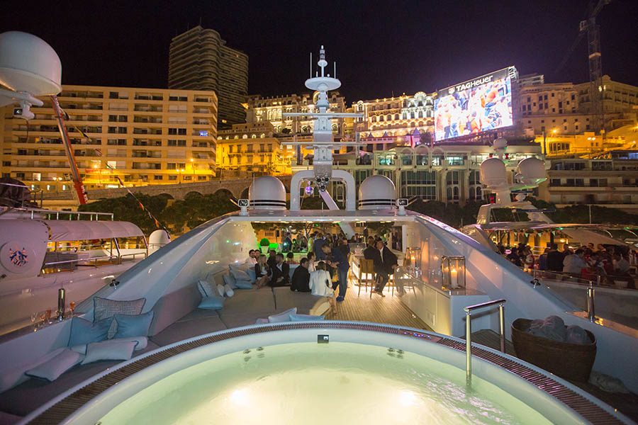 The most exclusive Monaco F1 party will be held on board a superyacht I Credit: My Yacht Group